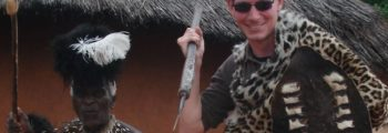 African adventures lead to a new career for Gareth